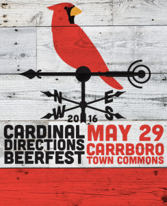 Cardinal Directions Brewfest @ Carrboro Town Commons | Carrboro | North Carolina | United States