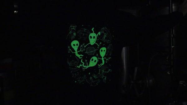 Aliens on Hoodie